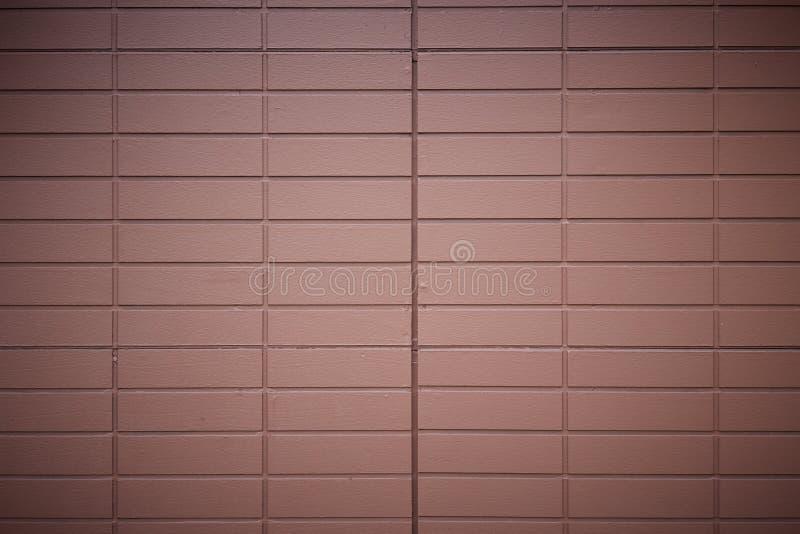 Texture moderne rouge de mur de briques photo libre de droits