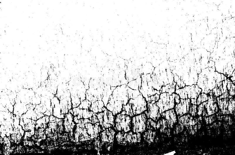 Texture monochrome grunge de résumé image stock