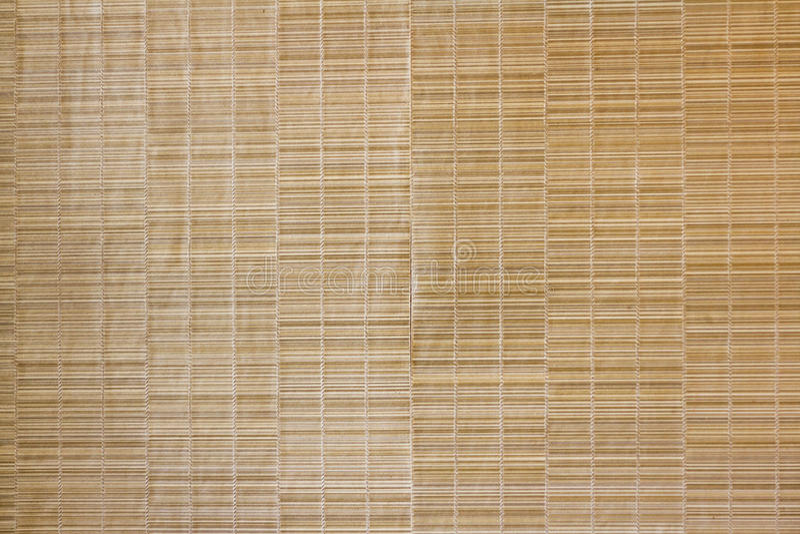 Texture, mur en bambou photographie stock