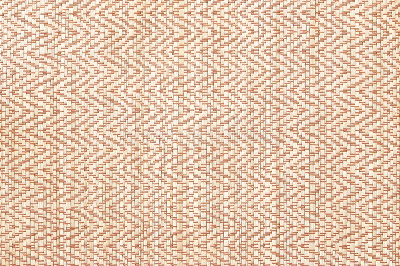 Texture of native thai style weave sedge mat texture background - made f royalty free stock image