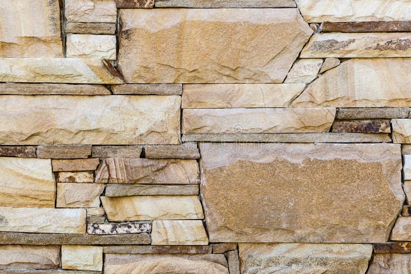 Texture of natural sandstone wall stock photography