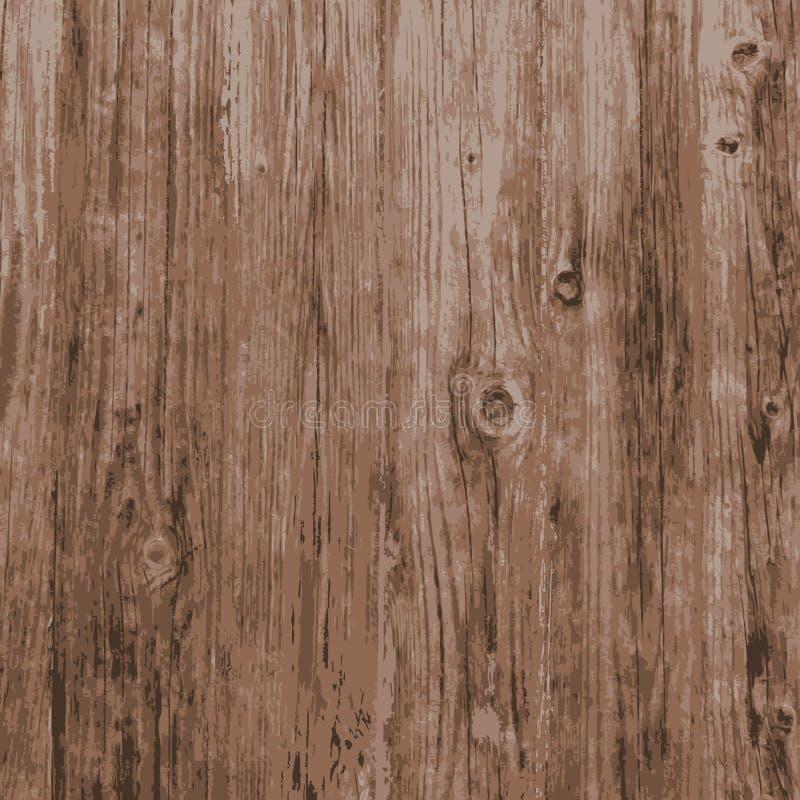Texture naturelle en bois de planche illustration de vecteur