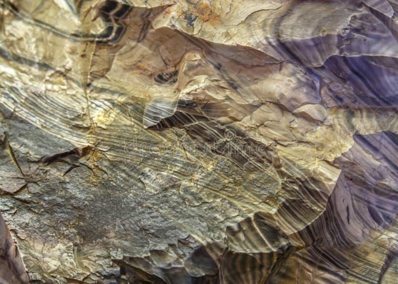 Texture naturelle minérale Fond texturisé de contexte abstrait extérieur de granit de pierre de roche Surface du matériau de marb images stock