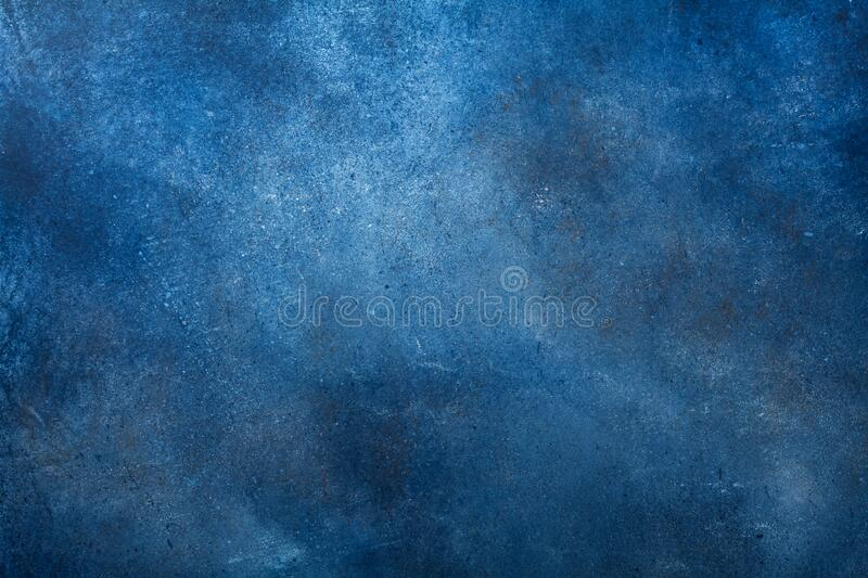 Texture of navy blue painted wall background.  royalty free stock photos