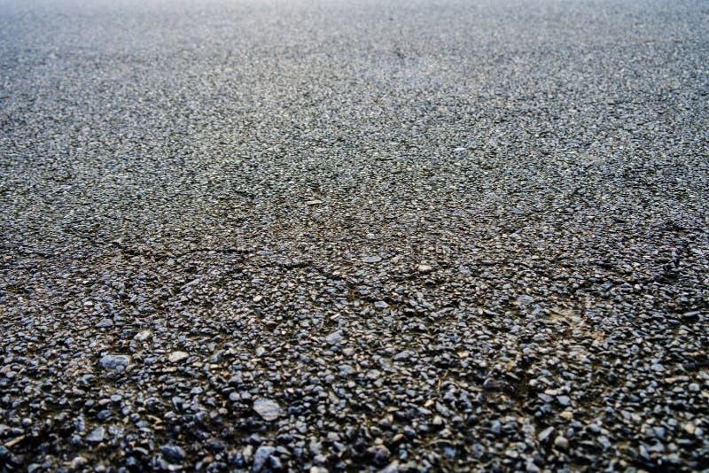 Texture noire d'asphalte Route goudronnée backg en pierre de texture d'asphalte photo libre de droits