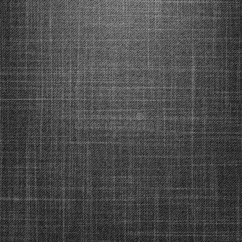 Texture noire de jeans illustration stock