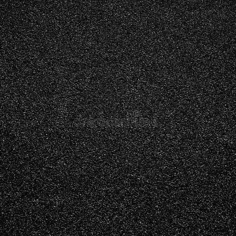 Texture noire de papier sablé pour le contexte Papier sablé rugueux abstrait s photos libres de droits