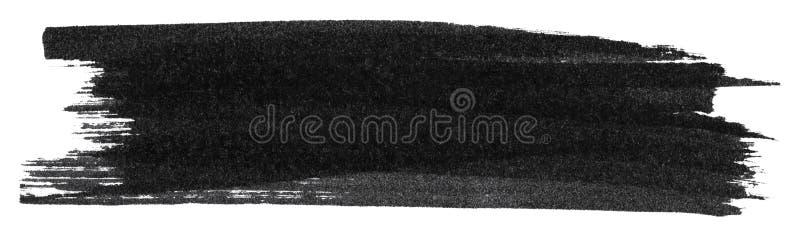 Texture noire de peinture de marqueur illustration libre de droits