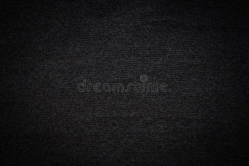 Texture noire de T-shirt de couleur photos stock