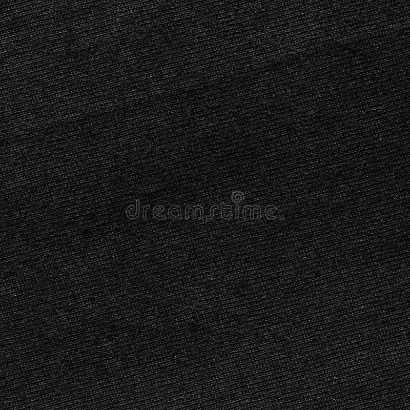 Texture noire de T-shirt de couleur image libre de droits