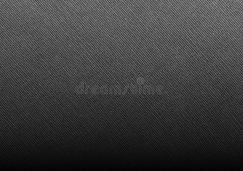 Texture noire de tissu images libres de droits