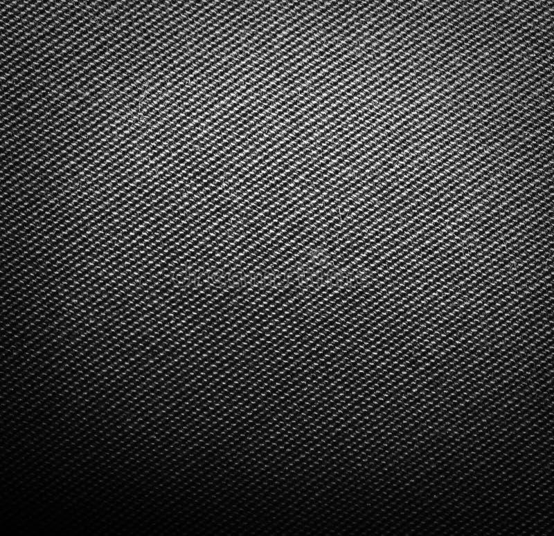 Texture noire de tissu photo libre de droits