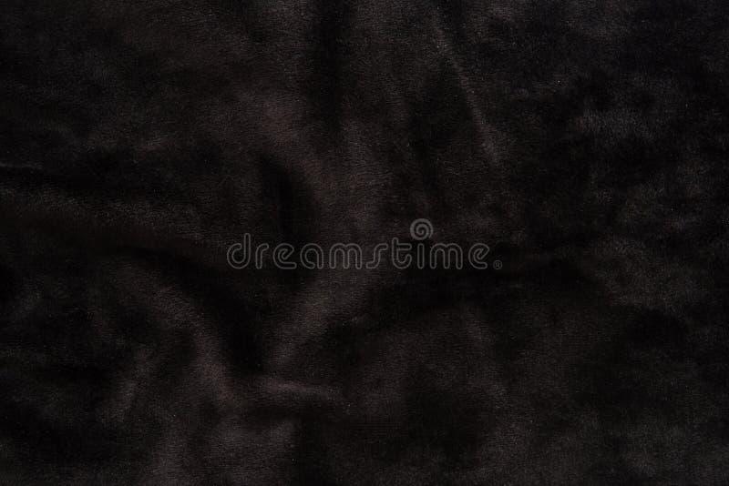 Texture noire de velours photographie stock