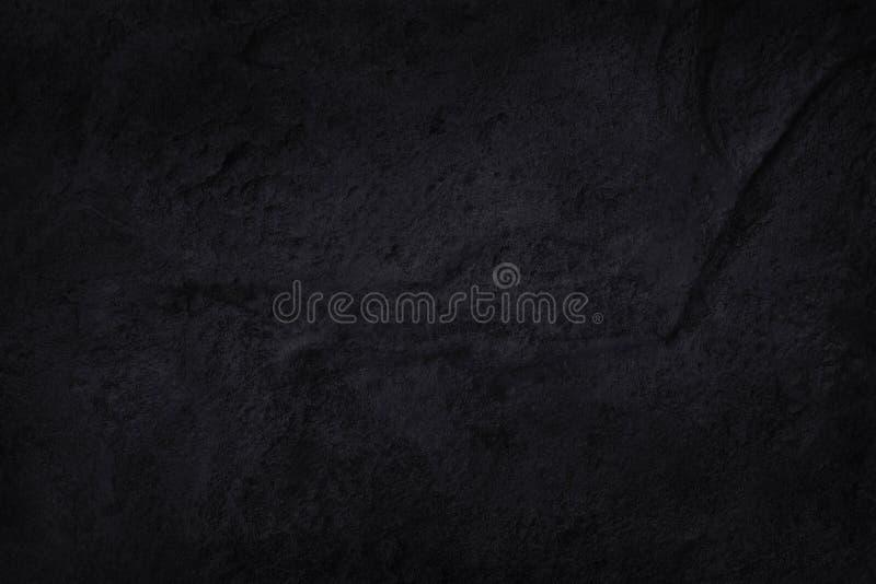 Texture noire gris-foncé d'ardoise dans le modèle naturel Mur en pierre noir illustration libre de droits