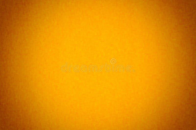 Texture noire orange Halloween de fond de textile de tissu Plan rapproché de matériel de textile fibre ou ouatine, macro matériel photo libre de droits