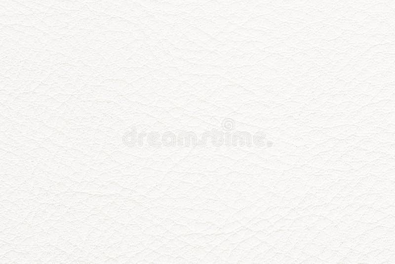 Texture normale de cuir blanc images libres de droits