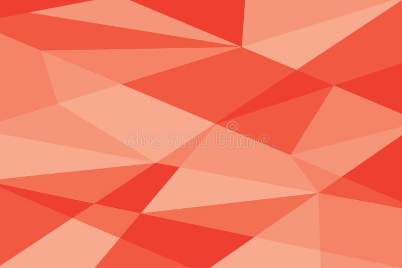 Texture o sumário vermelho moderno do fundo da luz da gradação do estilo da bandeira ilustração stock