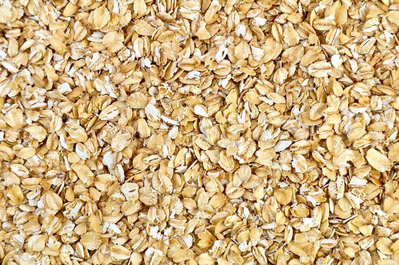 The texture of oatmeal royalty free stock photography