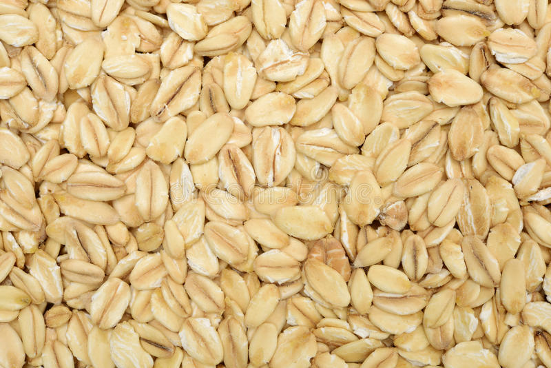 The texture of oatmeal. royalty free stock photos
