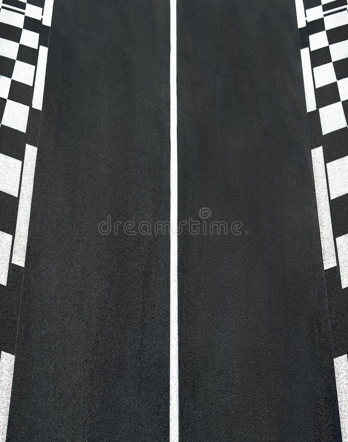 Free Texture Of Race Asphalt And Chess Curb Grand Prix Circuit Stock Images - 80994074