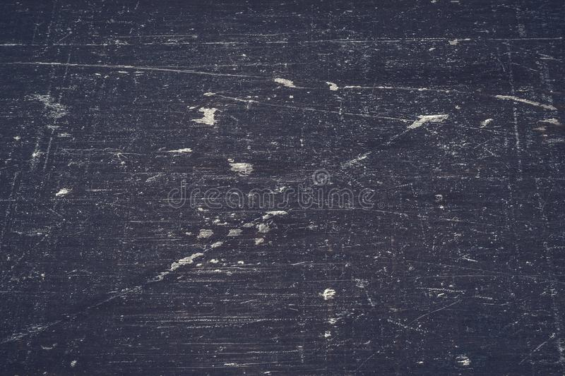 Texture on the old black piece of wood stock photography
