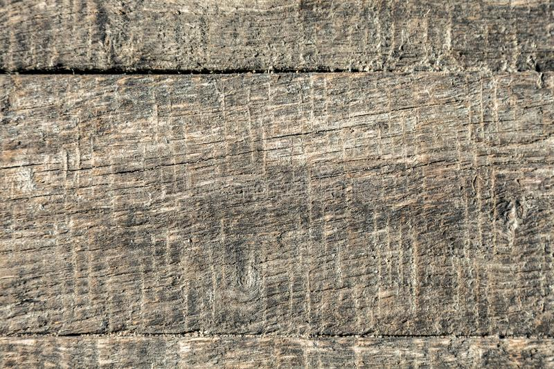 Texture of old board. The old wood texture with natural patterns stock photography