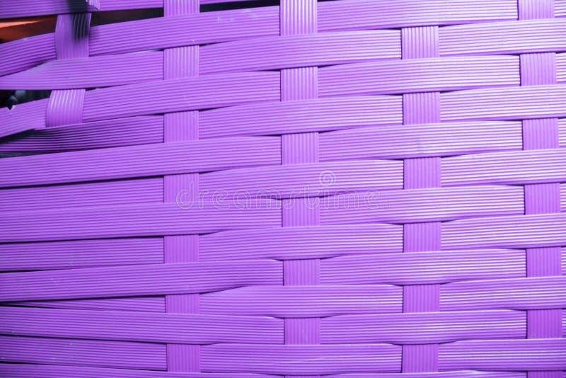 Texture of old broken wicker basket. Lines are uneven, beveled. Weakening stock photo