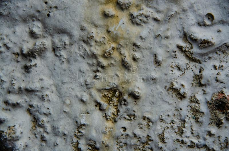 Texture of old concrete wall. Fragment. Macro. Gray. Abstract stock image