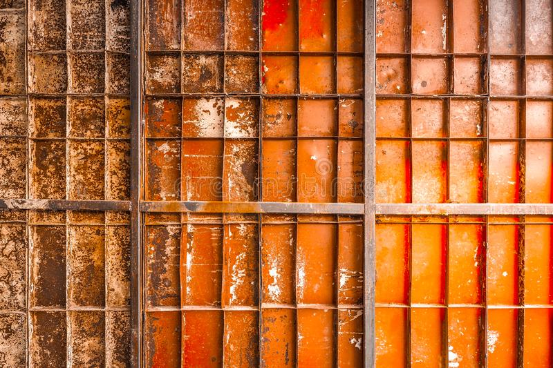 Texture of old corroded metal royalty free stock photo