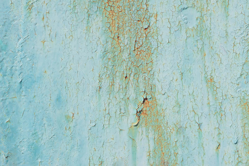 Download Texture Of Old Green Peeling Paint Stock Image