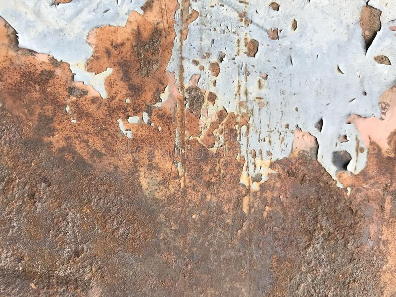 Texture of old metal stock image