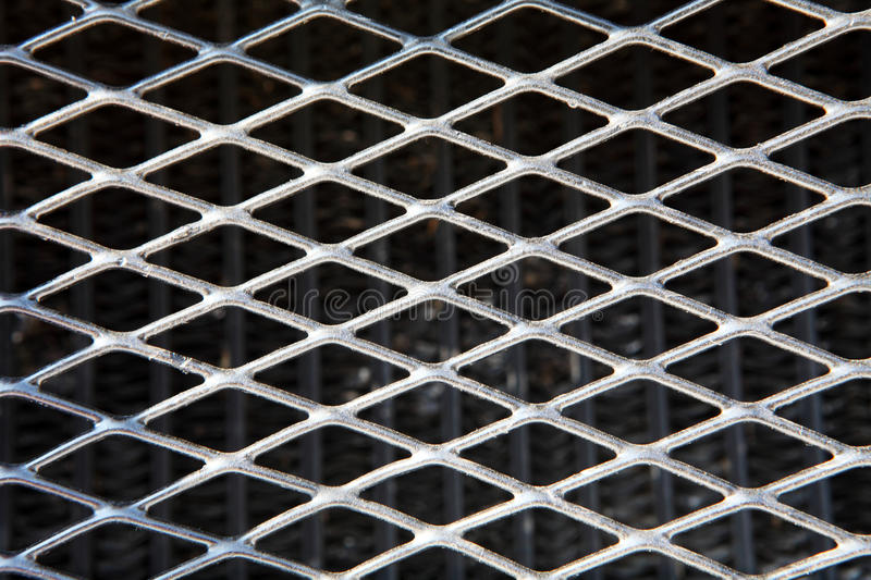 Download Texture Of Old Metallic Grid Stock Image - Image: 20722799