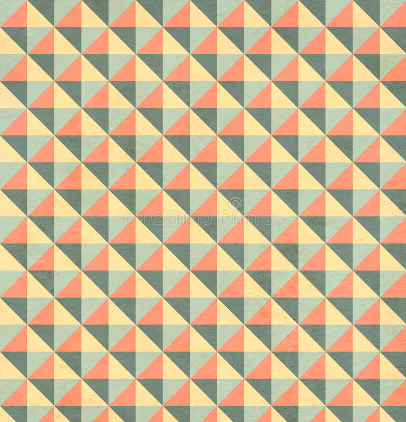 Texture of the old paper with geometric ornamental pattern. Texture of the old soiled paper with geometric ornamental pattern vector illustration