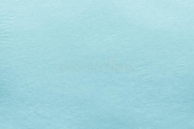 Texture old paper of pale blue color stock photography