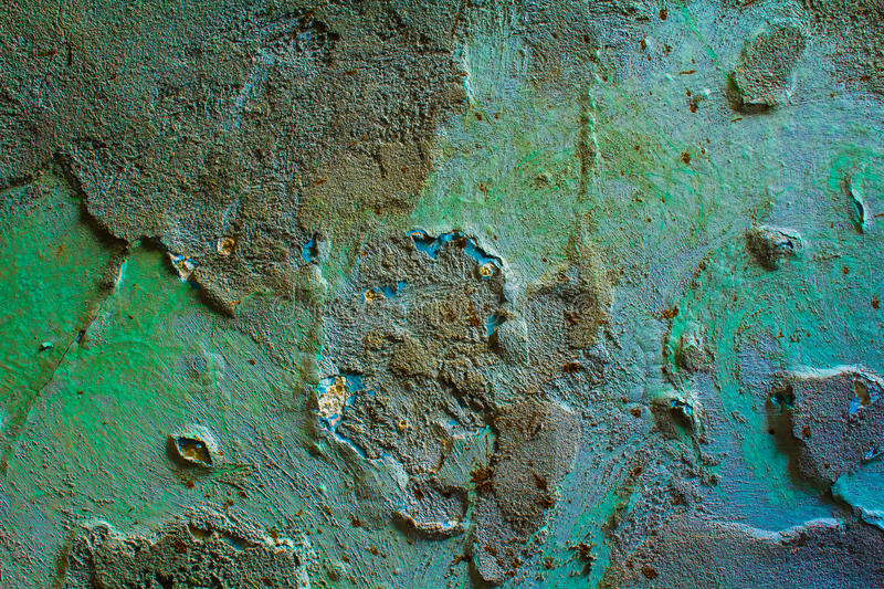 The texture is old plaster. stock photography