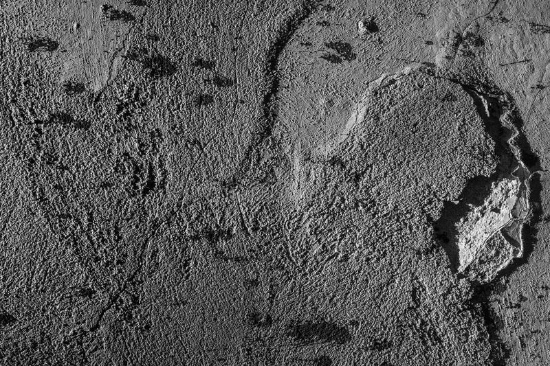 The texture is old plaster. stock images