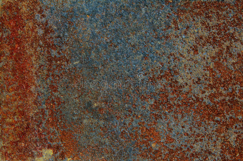 Texture of old and rusty metal stock photography