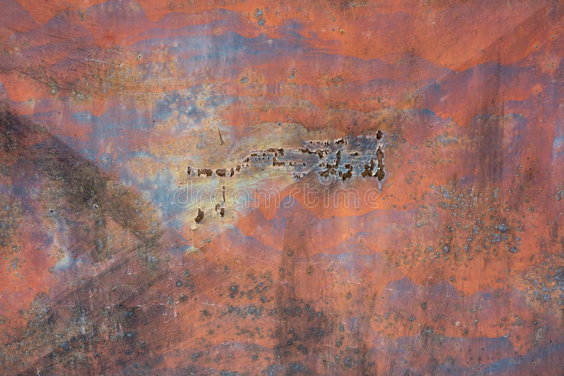 Texture of old rusty metal royalty free stock images