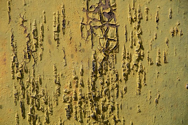 Texture of old rusty metal painted. Abstract background. Old metal royalty free stock image
