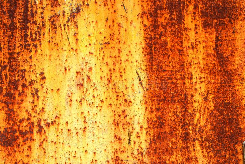 Texture of old rusty metal wall royalty free stock images