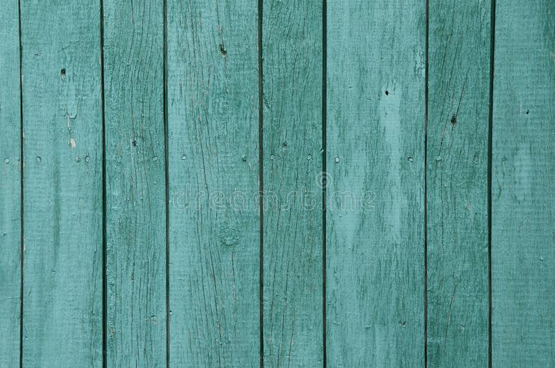 Texture of old green wooden boards background royalty free stock photo