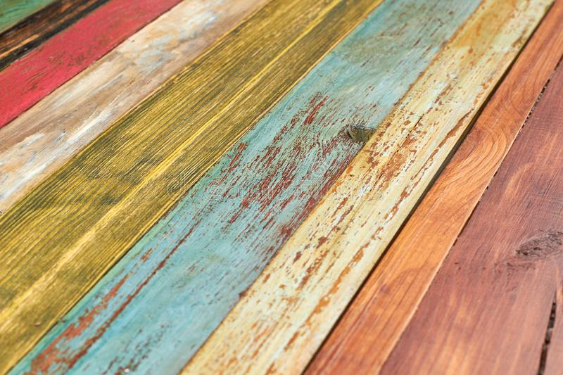 Texture of old wooden boards. stock image