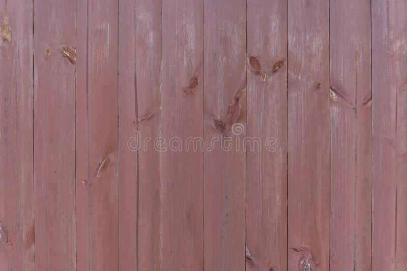 Texture of old wooden fence boards as a background. Countryside, Russia. stock photo