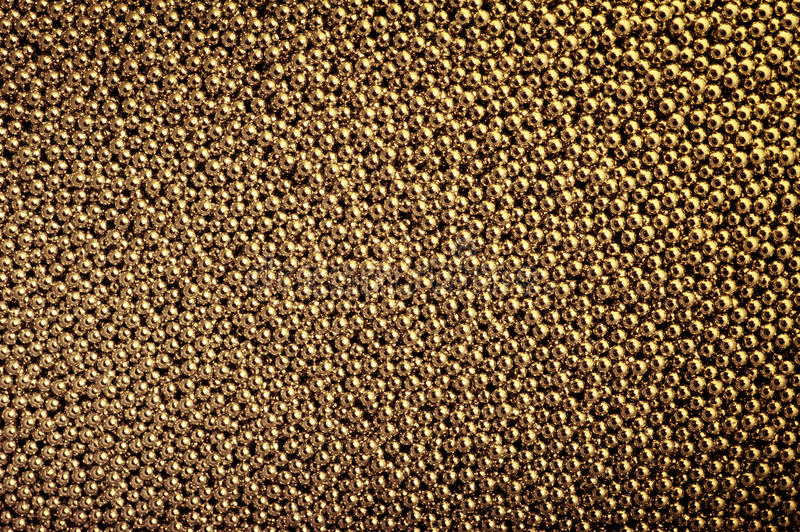 Download Texture Of One Thousand Gold Balls. Royalty Free Stock Photo - Image: 22585955