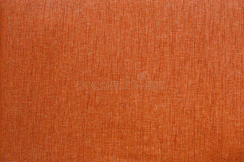 Texture orange de tissu. images stock