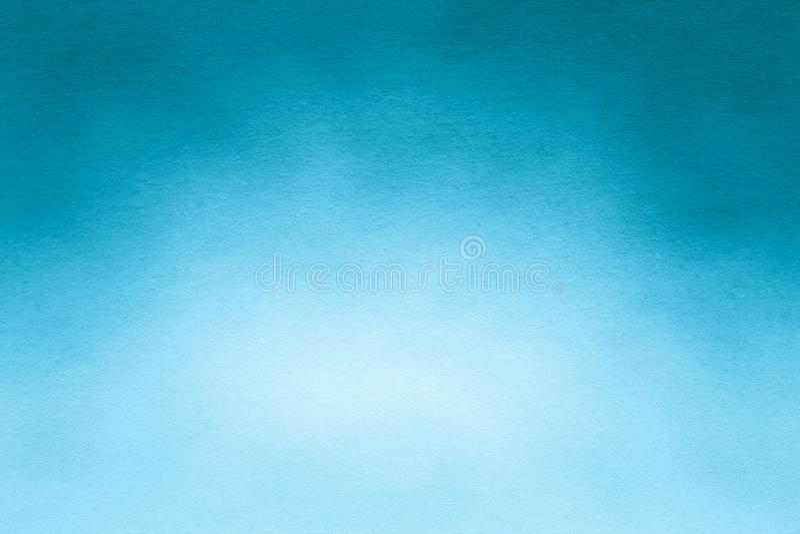 Texture ou fond de papier d'aquarelle pour d'illustration le bleu et le blanc doucement photo libre de droits