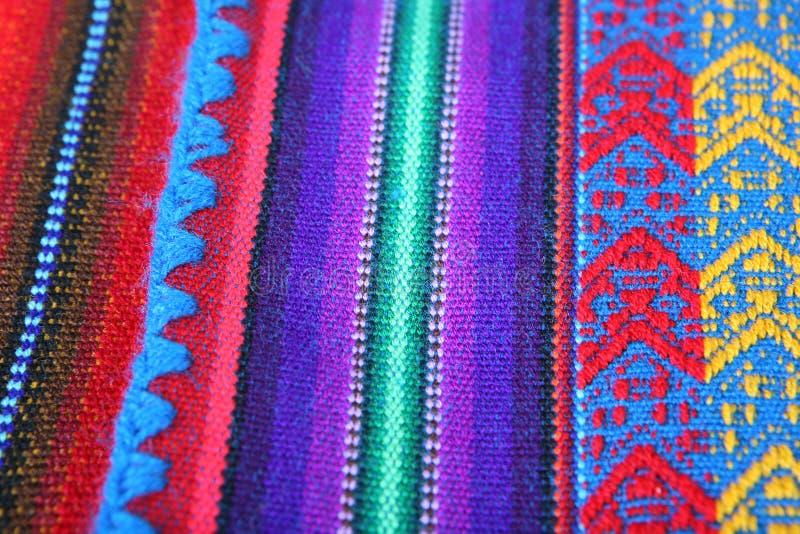 texture péruvienne fabriquée à la main images libres de droits