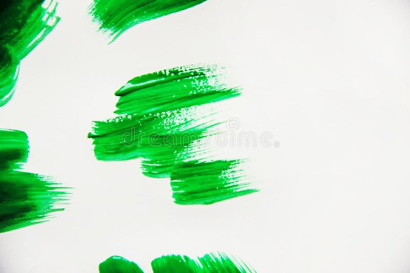 Texture paint on white background. Selective focus. royalty free stock photography