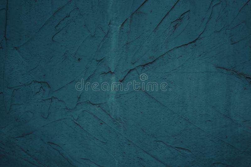 Texture of the painted wall blue maritime color with divorces. Background grunge design abstract retro border house pattern vintage nature art paper backdrop royalty free stock photo