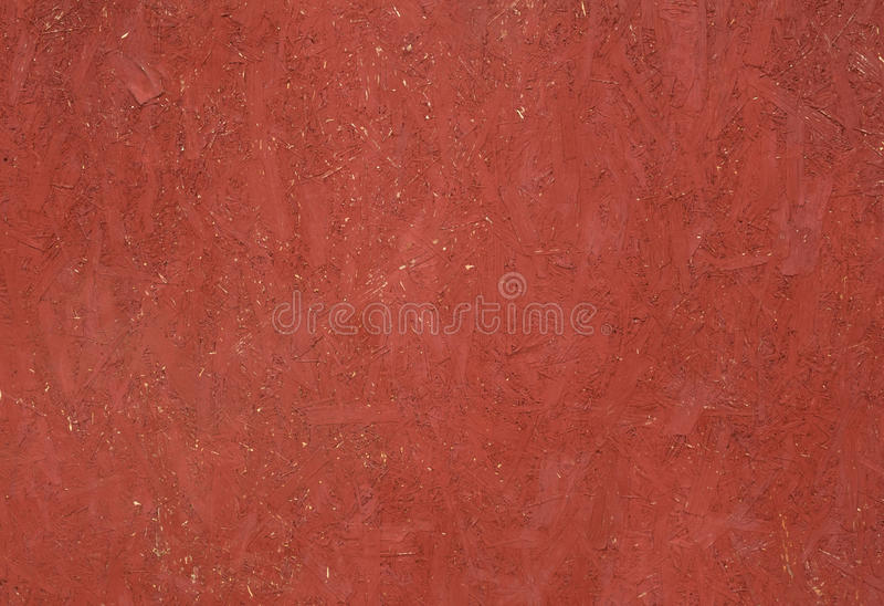 Texture panel of chipboard, painted in red. Texture old panel of chipboard, painted in red stock photos
